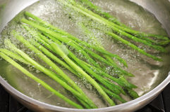 Close up asparagus Royalty Free Stock Photo