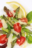 Close up of asparagus salad. Stock Photography