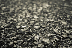 Close up asphalt road black texture background. Stock Photography