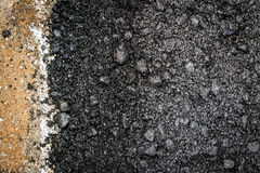 Close-up asphalt Stock Images