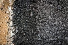 Close-up asphalt Stock Images