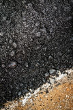 Close-up asphalt Stock Photo