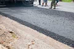 Close-up asphalt Stock Photography
