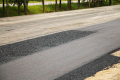 Close-up asphalt Stock Photos