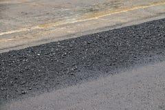Close-up asphalt Stock Photo