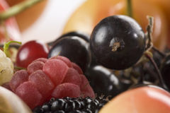 Close up of assorted summer berries Stock Photo