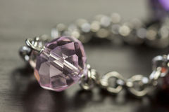Close up of attractive shiny beads Royalty Free Stock Image