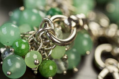 Close up of attractive shiny beads Stock Images