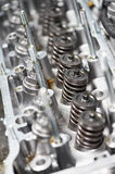 Close-up of automobile cylinder head Stock Photography