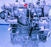 Close-up automobile gasoline engine model Royalty Free Stock Photography