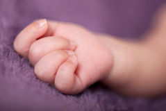 Close-up of baby Stock Photography