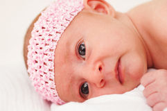 Close up of Baby Royalty Free Stock Photo