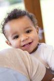 Close up of baby boy Stock Photos
