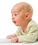 Close up on baby face Royalty Free Stock Image