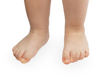 Close up of baby feet Royalty Free Stock Photography