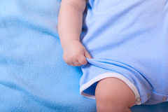 Close up of baby Stock Photography