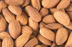 Close up of a background almond Stock Images