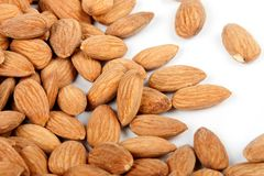 Close-up background almonds 3 Stock Photography