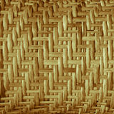 Close up background bamboo weave. Close-up background, bamboo weave old fashioned brown, skilled and beautiful, durable Stock Photo