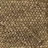 Close up background bamboo weave. Close-up background, bamboo weave old fashioned brown, skilled and beautiful, durable Stock Image