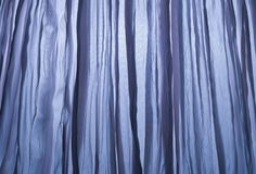 Close Up Background of Blue Curtain Texture stock images
