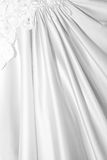 Close Up background of bridal dress Stock Image