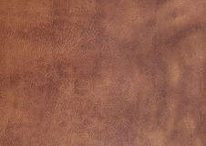 Close up of background with brown imitation skin Royalty Free Stock Photo