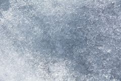 Close-up background of melted snow Stock Photo