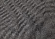 Close Up Background Pattern of Black Textile Texture Stock Image