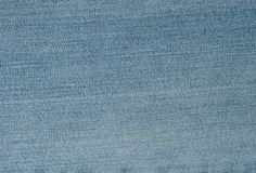 Close Up Background Pattern of Blue Denim Jean Texture Royalty Free Stock Photos