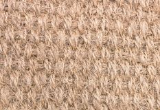 Close Up Background Pattern of Brown Woven Rope Texture. Fabric Texture, Close Up of Woven Rope Texture Pattern Background royalty free stock image