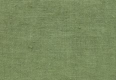 Close Up Background Pattern of Green Textile Texture Royalty Free Stock Photo