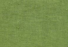 Close Up Background Pattern of Green Textile Texture Stock Photography
