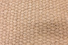 Close Up Background Pattern of Woven Rope Texture. Fabric Texture, Close Up of Brown Woven Rope Texture Pattern Background stock images