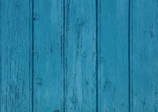 Blue vintage painted wooden panel background Stock Photo