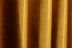 Close up of background texture a gold fabric pattern. Close up of background texture a gold fabric pattern Stock Photos