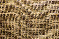 A close up background/texture photo of hessian fabric. A close up background/texture macro photo of hessian fabric Royalty Free Stock Photo