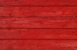 Red vintage painted wooden panel background Royalty Free Stock Images