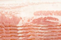 Close-up of bacon Stock Image
