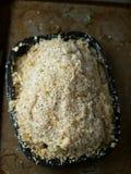 Baked salt crust chicken Royalty Free Stock Photos
