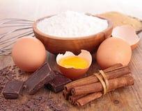 Baking ingredient Royalty Free Stock Photography