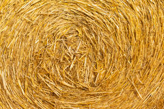 A close-up of a bale of hay Stock Photography