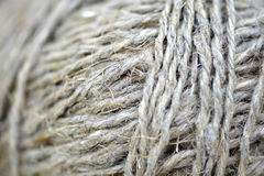Close up of a ball of string texture Stock Photo