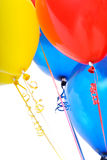 Close up Balloon group all Royalty Free Stock Photo