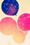Close up of balloons Royalty Free Stock Photo