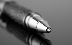 Close-up of ballpoint Royalty Free Stock Photography