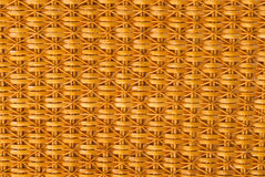 Close up of a bamboo basket Royalty Free Stock Images