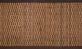 Close up of bamboo box. Close up of a brown bamboo box Stock Photography