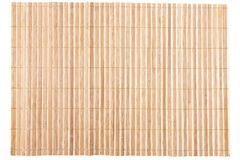 Close up of bamboo mat Stock Photo