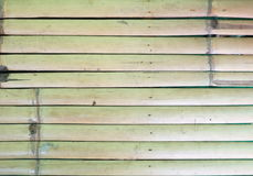 Close up bamboo wood fence texture background Stock Photos